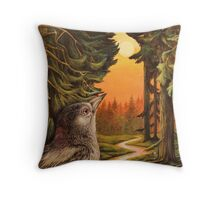 Forest Whispers Throw Pillow