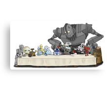 the Last Supper...with ROBOTS Canvas Print