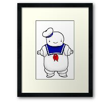 Stay puft marshmallow man Framed Print