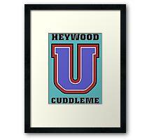 Heywood U. Cuddleme Framed Print