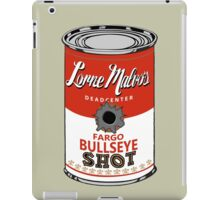 Fargo Soupcan Bullet Hole iPad Case/Skin