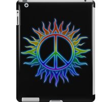 Peace Sign Sun iPad Case/Skin