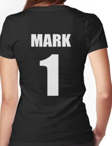 Number 1 Wrestling Mark T-Shirt Womens Fitted T-Shirt
