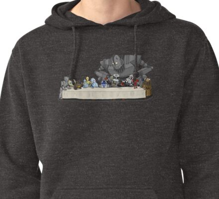 the Last Supper...with ROBOTS Pullover Hoodie