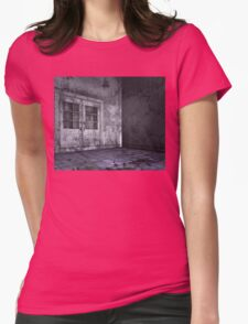 Abandoned Interior  Womens Fitted T-Shirt