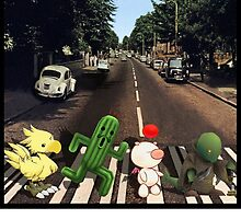 Final Fantasy Abbey Road by SquallAndSeifer