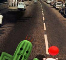 Final Fantasy Abbey Road Sticker