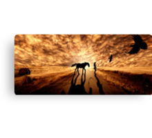 Distant Eden Canvas Print