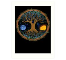 Astral Tree of Life Art Print