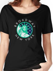 Broadway, New York City Women's Relaxed Fit T-Shirt