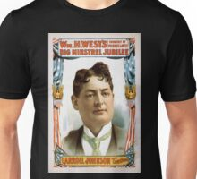 Performing Arts Posters Wm H Wests Big Minstrel Jubilee formerly of Primrose West 1755 Unisex T-Shirt