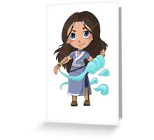 Katara, from the Water Tribe Greeting Card