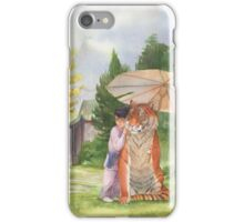 Little Shifu and Tiger iPhone Case/Skin