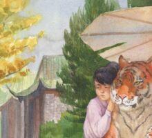 Little Shifu and Tiger Sticker
