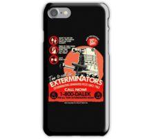 Dalek Exterminators iPhone Case/Skin