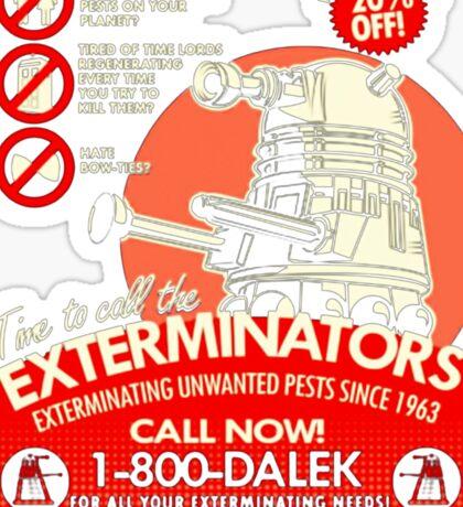 Dalek Exterminators Sticker