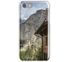 Lauterbrunnen Switzerland iPhone Case/Skin