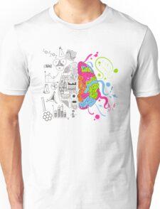 Analytical and Creative Brain Unisex T-Shirt