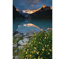 Lake Louise at sunrise Photographic Print