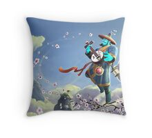 DotA 2 - The Other Side Of Storm Spirit Throw Pillow