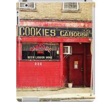 Cookies Caboose iPad Case/Skin