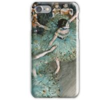 Edgar Degas - Swaying Dancer (Dancer in Green) (1877 - 1879)  iPhone Case/Skin