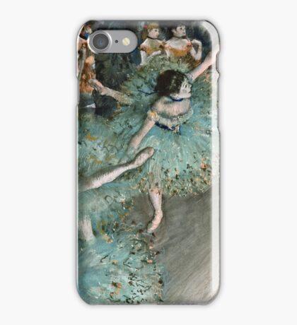 Edgar Degas - Swaying Dancer (Dancer in Green) (1877 - 1879)  iPhone Case/Skin