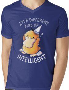Dumb but Intelligent Mens V-Neck T-Shirt