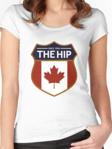 tragically hip Women's Fitted Scoop T-Shirt