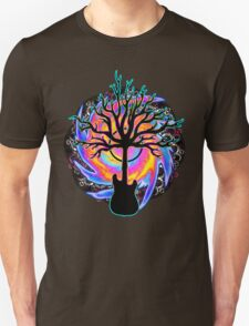 """""""Psychedelic Sonic Cyclone""""   ( surreal guitar tree art) Unisex T-Shirt"""