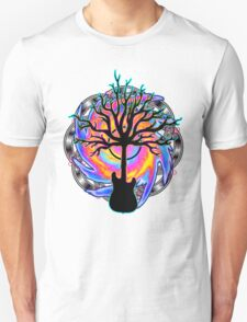 """Psychedelic Sonic Cyclone""   ( surreal guitar tree art) Unisex T-Shirt"