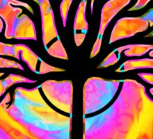 """""""Psychedelic Sonic Cyclone""""   ( surreal guitar tree art) Sticker"""