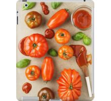 Tomatoes for tomato ketchup iPad Case/Skin