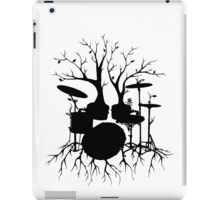 """""""Live the Beat to the Tempo of Creation"""" ~ drum art, version2 iPad Case/Skin"""