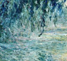 Claude Monet - Morning on the Seine (1898)  Sticker