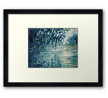 Claude Monet - Morning on the Seine (1898)  Framed Print
