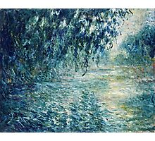 Claude Monet - Morning on the Seine (1898)  Photographic Print