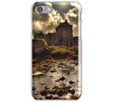 Sunset and Storm 4(Eilean Donan Castle). iPhone Case/Skin