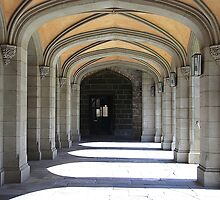 Cloisters, Melbourne University by Maggie Hegarty