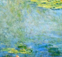 Claude Monet - Waterlilies (1906)  Sticker