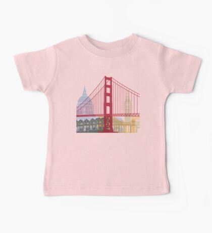 San Francisco skyline poster Baby Tee