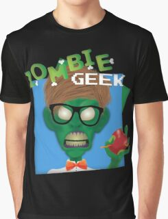 Zombie Geek Graphic T-Shirt