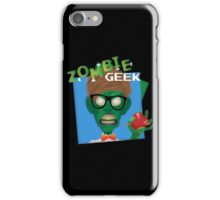 Zombie Geek iPhone Case/Skin