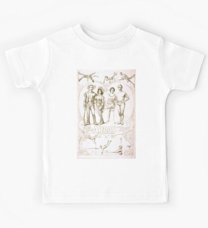 Performing Arts Posters Syra and Rolf Arras transformation gymnastic novelty 1426 Kids Tee