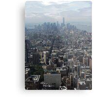 New York Rooftops Metal Print