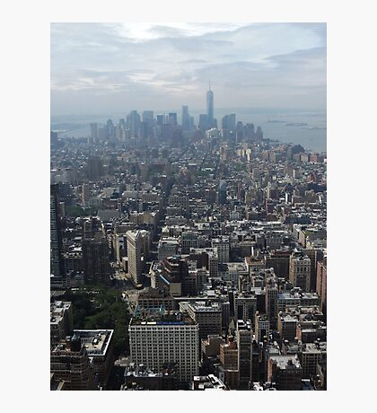New York Rooftops Photographic Print