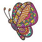 Ornate butterfly by BoYusya