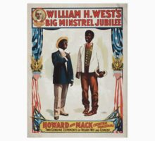Performing Arts Posters William H Wests Big Minstrel Jubilee 1768 One Piece - Short Sleeve