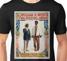 Performing Arts Posters William H Wests Big Minstrel Jubilee 1768 Unisex T-Shirt