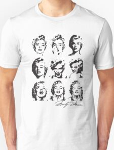 Marilyn's Funny Faces T-Shirt